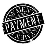 Payment rubber stamp Stock Images