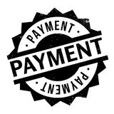 Payment rubber stamp Royalty Free Stock Photography