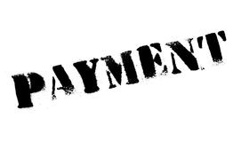 Payment rubber stamp Stock Image