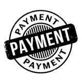 Payment rubber stamp Royalty Free Stock Photo