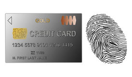 Payment security concept. On white background Stock Images