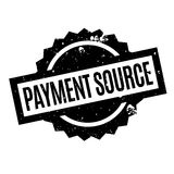 Payment Source rubber stamp Royalty Free Stock Photos