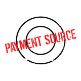 Payment Source rubber stamp Royalty Free Stock Image