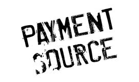 Payment Source rubber stamp Stock Images