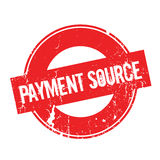 Payment Source rubber stamp Royalty Free Stock Photography