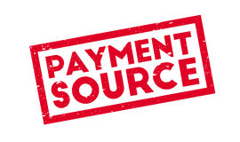 Payment Source rubber stamp Stock Photo