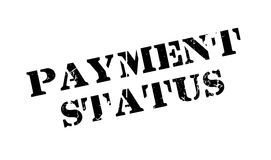 Payment Status rubber stamp Royalty Free Stock Photography