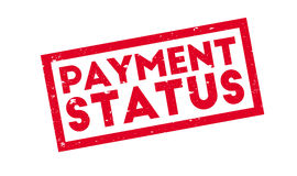 Payment Status rubber stamp Royalty Free Stock Image