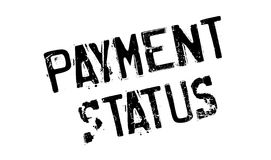 Payment Status rubber stamp Royalty Free Stock Images