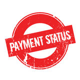 Payment Status rubber stamp Stock Image