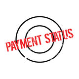Payment Status rubber stamp Royalty Free Stock Photos