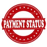 Payment status. Stamp with text payment status inside,  illustration Royalty Free Stock Photos