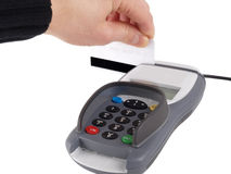 Payment terminal Stock Photography