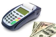 Payment terminal Royalty Free Stock Images