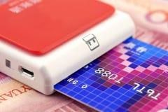 Payment terminal Stock Image