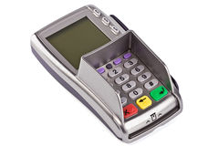 The payment terminal  for payment Royalty Free Stock Photo