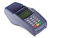 The payment terminal  for payment Stock Image