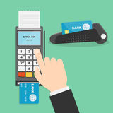 Payment terminal Royalty Free Stock Photos