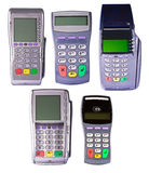 Payment terminals for payment of purchases Royalty Free Stock Photography