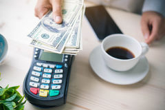 Payment transaction Royalty Free Stock Images