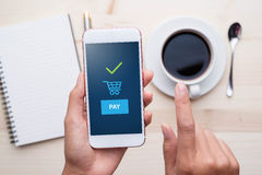 Payment transaction Stock Photography