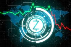 Payment and z cash concept Stock Photo