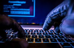 Payments System Hacking Stock Images