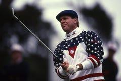 Payne Stewart Professional Golfer Lizenzfreies Stockbild