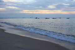 Payoon Beach in Rayong Royalty Free Stock Images