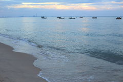 Payoon Beach in Rayong Stock Images
