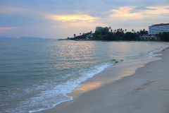 Payoon Beach in Rayong Stock Photo
