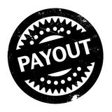 Payout rubber stamp. Grunge design with dust scratches. Effects can be easily removed for a clean, crisp look. Color is easily changed Royalty Free Stock Photos