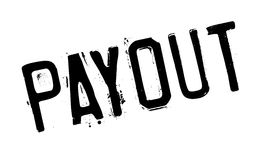 Payout rubber stamp. Grunge design with dust scratches. Effects can be easily removed for a clean, crisp look. Color is easily changed Royalty Free Stock Images