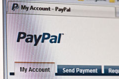 Paypal Stock Photography
