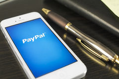 Paypal Arkivfoto