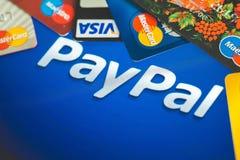 Paypal Zdjęcie Stock