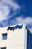 PayPal Corporate Headquarters Sign. Stock Photos