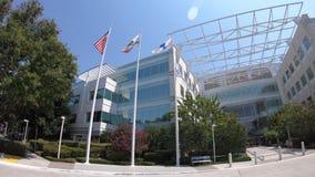 Paypal-vlaggen San Jose California stock videobeelden