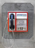 payphone Arkivbild