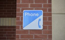 Public Payphone Southern Bell. A payphone alternative spelling: pay phone is typically a coin-operated public telephone, often located in a telephone booth or a royalty free stock photos