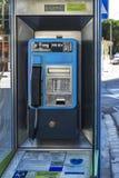Payphone dla miasta Blanes i długodystansowych wezwań, Hiszpania zdjęcie royalty free