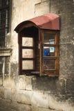 Payphone i Lviv Royaltyfri Bild