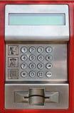 Payphone keaypad detail Stock Photography