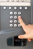 Payphone keypad Royalty Free Stock Photos