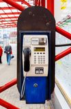 Payphone in Liberec. In the Czech Republic royalty free stock photos