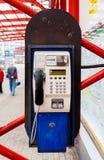 Payphone in Liberec royalty-vrije stock foto's