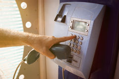 Payphone Royalty Free Stock Photos