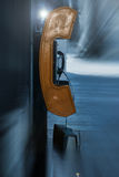 Payphone on street Royalty Free Stock Photos