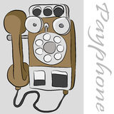 Payphone Telephone Royalty Free Stock Photo
