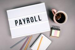 payroll r στοκ εικόνες
